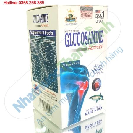 Glucosamine Astrojoi - Viên uống bổ khớp nhập khẩu Mỹ