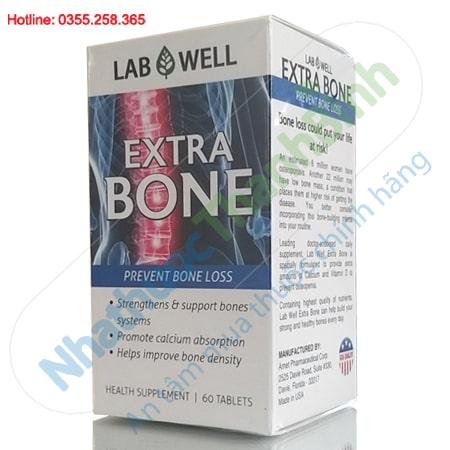 LabWell Extra Bone Bổ sung Canxi và Vitamin D phòng ngừa loãng xương