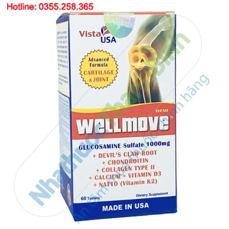 Wellmove giảm đau nhức xương khớp, chống thoái hóa khớp