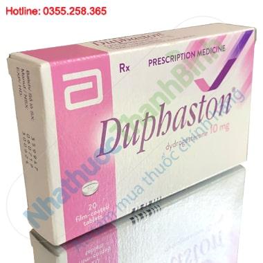 Thuốc Duphaston 10mg hộp 20 viên dưỡng thai, điều trị rối loạn nội tiết