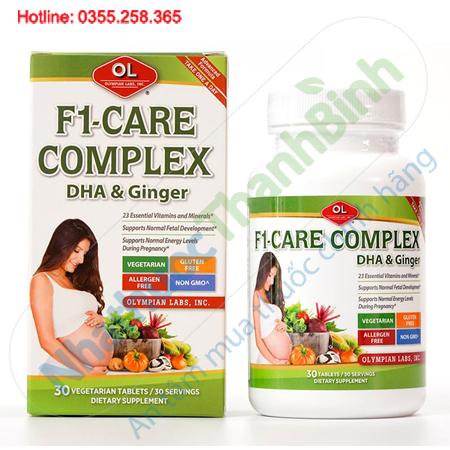 F1 Care Complex vitamin tổng hợp cho bà bầu