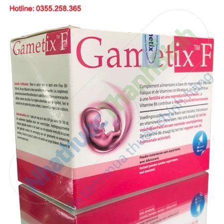Thuốc Gametix F hỗ trợ điều trị vô sinh hiếm muộn ở nữ giới