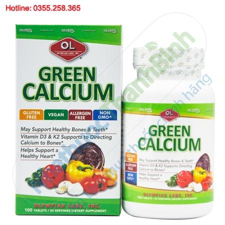 Green Calcium bổ sung canxi hữu cơ cho phụ nữ mang thai