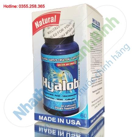 Hyalob hộp 60 viên - Bổ Khớp, nuôi dưỡng sụn khớp nhập khẩu Mỹ