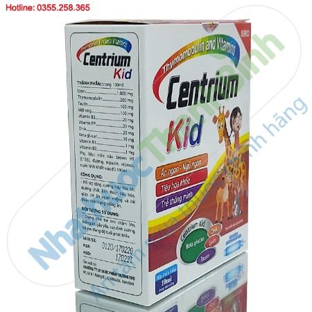 Centrium Kid - Siro giúp trẻ ăn ngủ ngon, tiêu hóa khỏe, thông minh