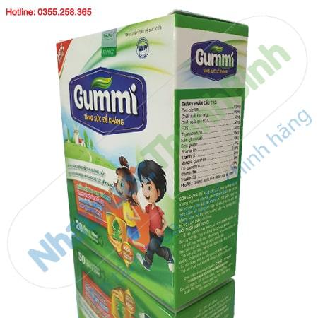 Siro Gummi tăng sức đề kháng giúp bé ăn ngon hộp 20 ống