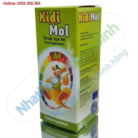 Kidi Mol 150ml Bổ sung Vtamin và khoáng chất cho trẻ nhỏ