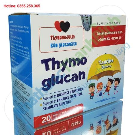 SiroThymo Glucan cải thiện sức đề kháng tăng cường tiêu hóa
