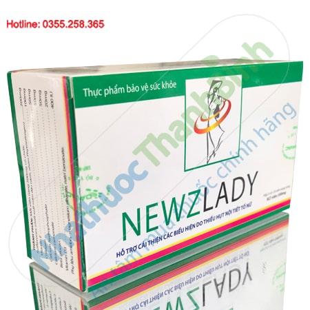 Newzlady hỗ trợ cải thiện các biểu hiện do thiếu hụt nội tiết tố