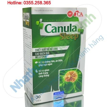 Canula Sleep giúp ngủ ngon giấc giảm căng thẳng mệt mỏi