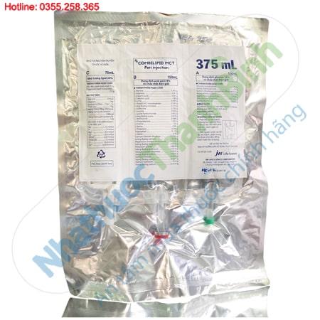 Combilipid MCT Peri injection 375ml nhũ tương tiêm truyền