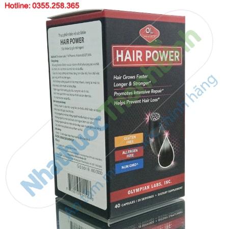 Hair Power Olympian Labs - Chống rụng tóc, kích thích mọc tóc