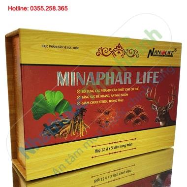 Minaphar Life bổ sung vitamin giúp tăng sức đề kháng, ăn ngủ ngon