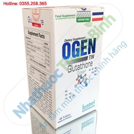 Ogentin Glutathione - Viên uống đẹp da, tăng sức đề kháng