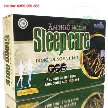 Ăn ngủ ngon Sleep Care dưỡng tâm an thần nâng cao sức khỏe