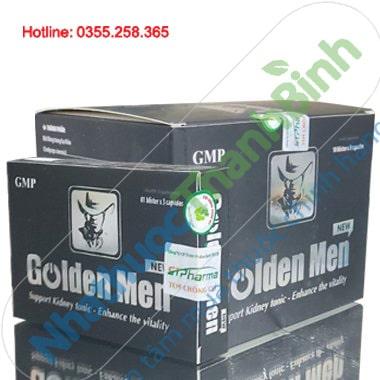 Viên uống thảo dược Golden Men tăng cường sức khỏe sinh lý nam