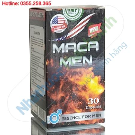 Maca Men hỗ trợ bổ thận tăng cường sinh lý nam hiệu quả