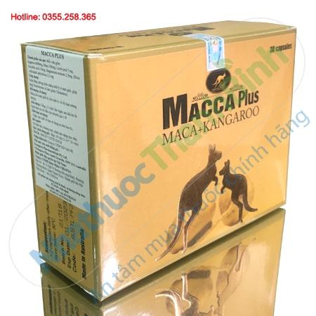Macca Plus hỗ trợ tăng cường sinh lý nam giới