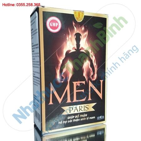 Men Paris hộp 40 viên - Bổ thận, cải thiện sinh lý nam giới