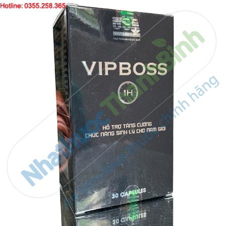 Vipboss 1H hỗ trợ tăng cường chức năng sinh lý cho nam giới