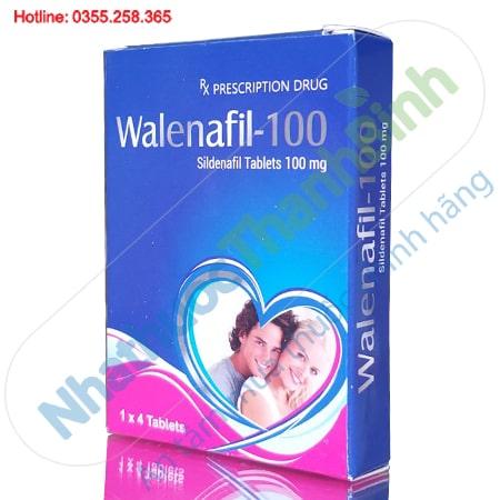 Thuốc Walenafil 100mg điều trị rối loạn cương dương ở nam giới