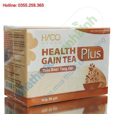 Health Gain Tea Plus trà thảo dược tăng cân Hoàng Anh