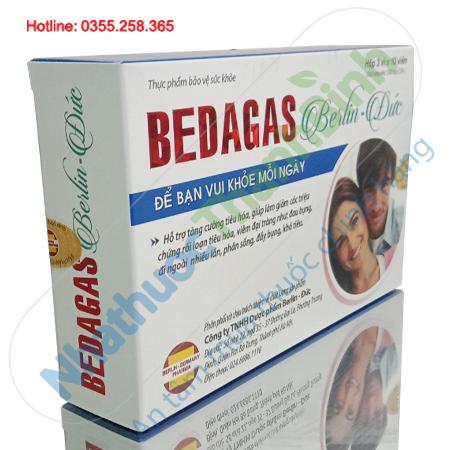 Bedagas Berlin Đức - Tăng cường tiêu hóa, bảo vệ đại tràng