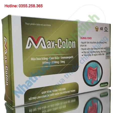 Max-Colon hỗ trợ điều trị bệnh viêm đại tràng