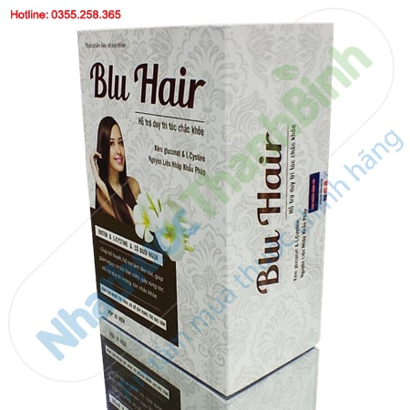 Blu Hair hỗ trợ duy trì tóc chắc khỏe