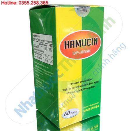 Hamucin 60 Viên - Bổ sung Vitamin A C E chống lão hóa