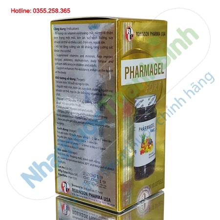 Pharmagel Fort bổ sung Vitamin và khoáng chất giúp tăng sức đề kháng