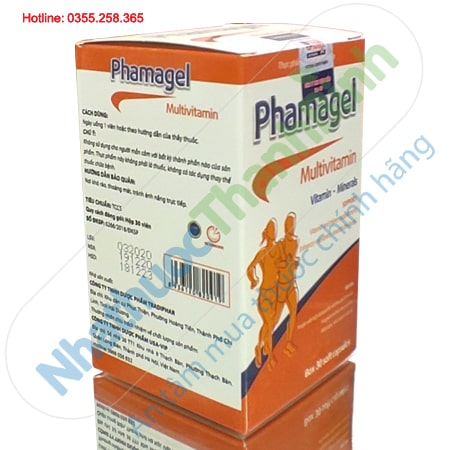 Viên uống bổ sung vitamin và khoáng chấtPhamagel Multivitamin